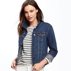 OLD NAVY | Dark Wash Denim Jacket